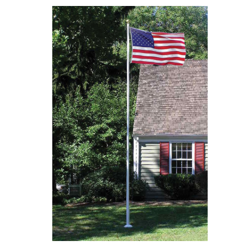 20' Villager III Fiberglass Flagpole - ColorFastFlags | All the flags you'll ever need!