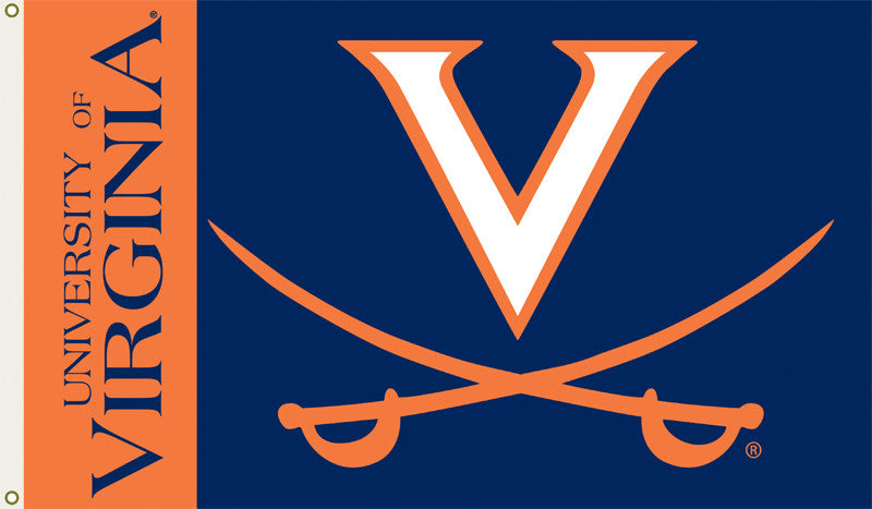 Officially Licensed Virginia Cavaliers 3' x 5' Flags - ColorFastFlags | All the flags you'll ever need!