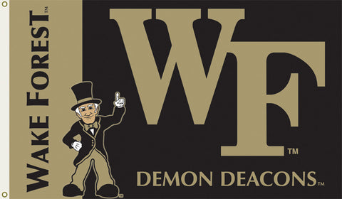 Officially Licensed Wake Forest University 3' x 5' Flags - ColorFastFlags | All the flags you'll ever need!