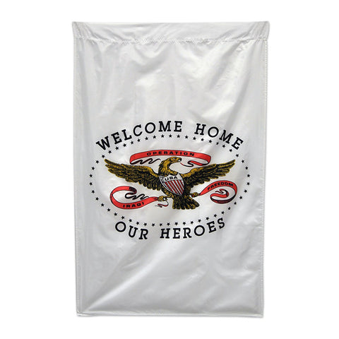 Welcome Home Our Heroes Flag - ColorFastFlags | All the flags you'll ever need!   - 1