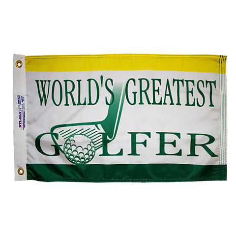 World's Greatest Golfer Flag - ColorFastFlags | All the flags you'll ever need!