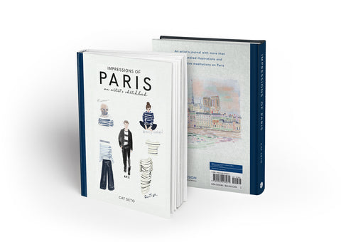 Impressions of Paris by Cat Seto book