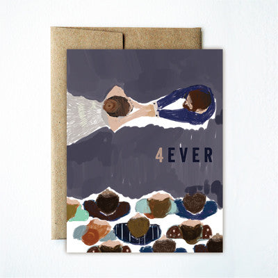 4 ever wedding card - Ferme à Papier