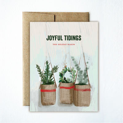 Joyful Tidings Baskets Set - Ferme à Papier