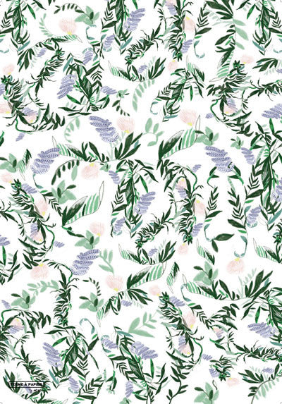 French fern gift wrap sheet - Ferme à Papier