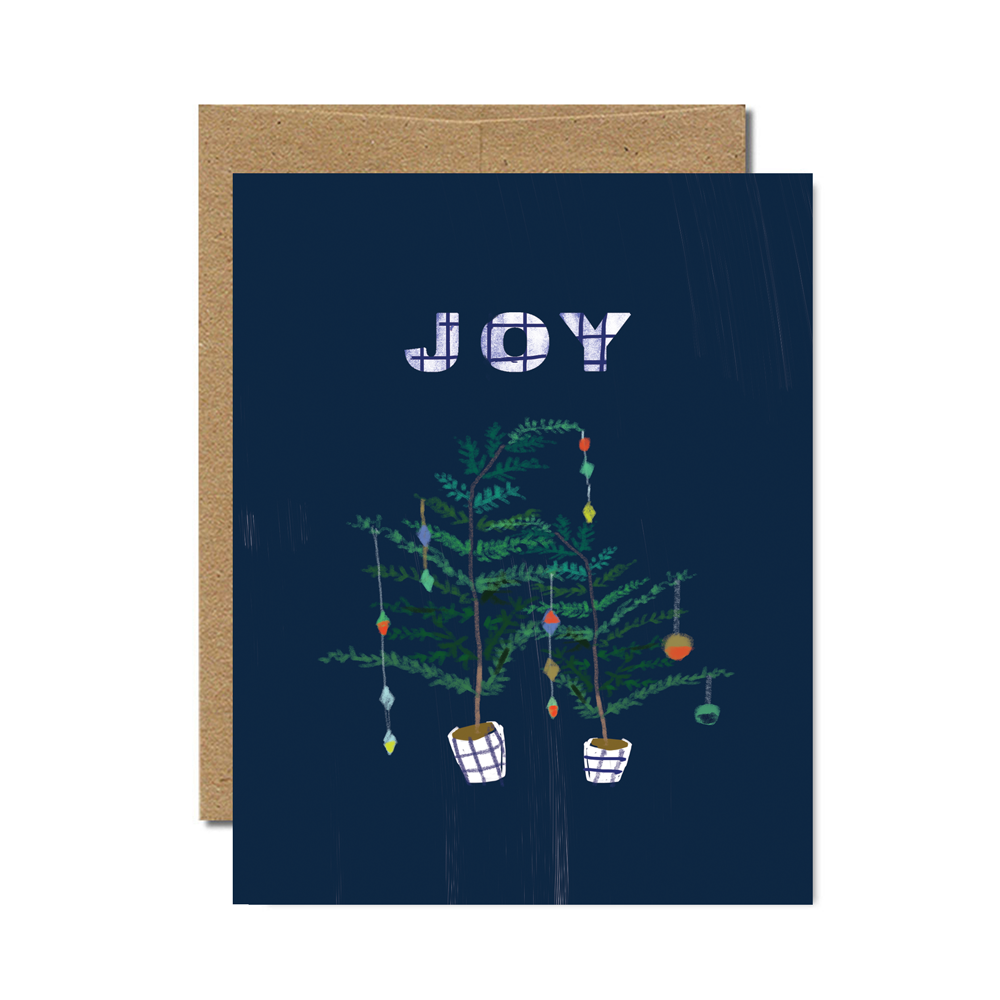 Joy Holiday Trees Set - Ferme à Papier