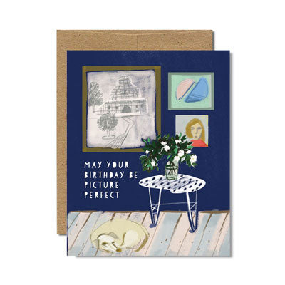 Picture perfect birthday card - Ferme à Papier