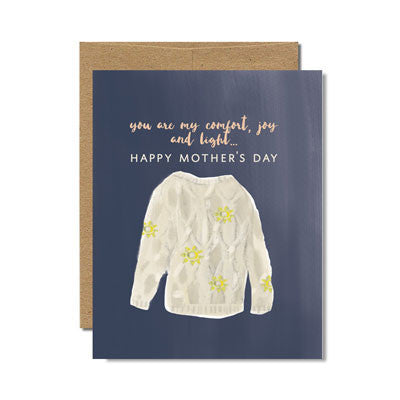 You are my comfort mother's day card - Ferme à Papier