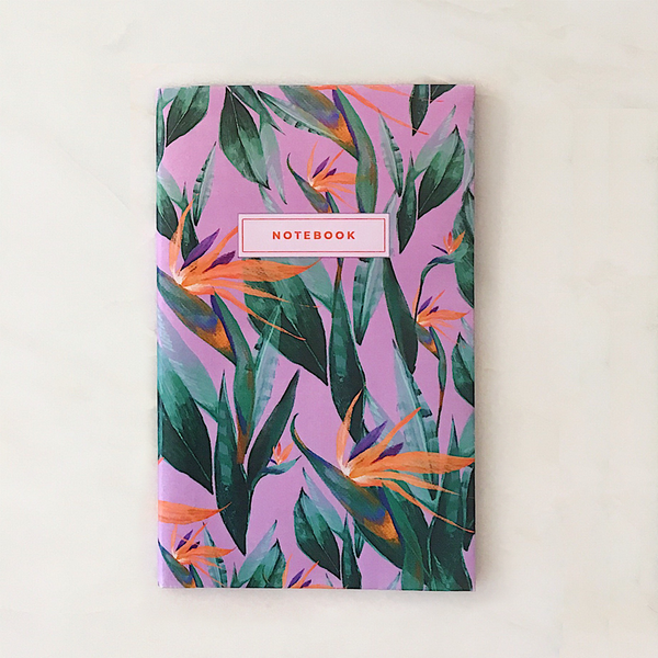 Bird of paradise notebook