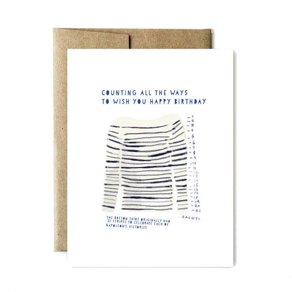 Breton birthday card