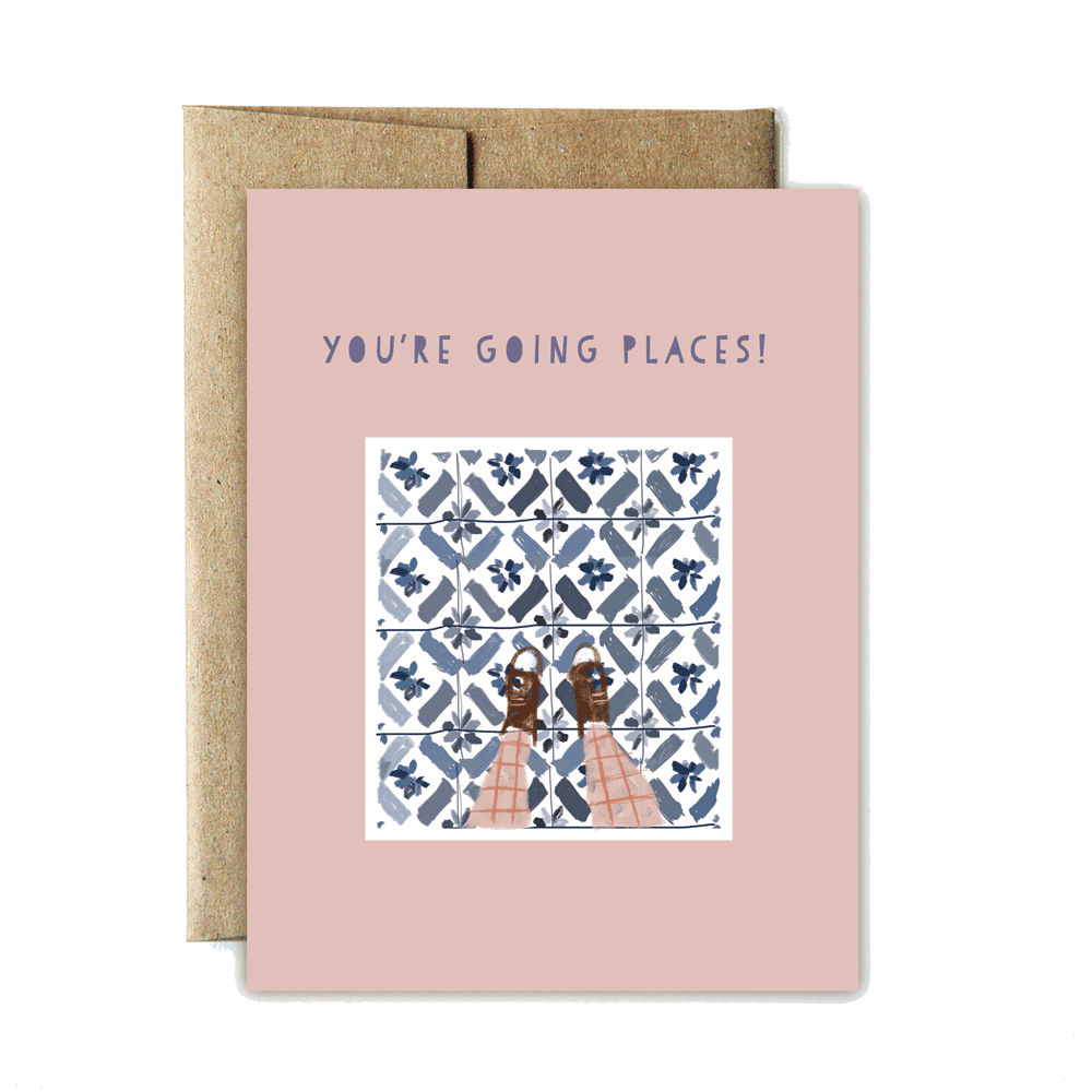 "IOP Tiles ""You're Going Places"""