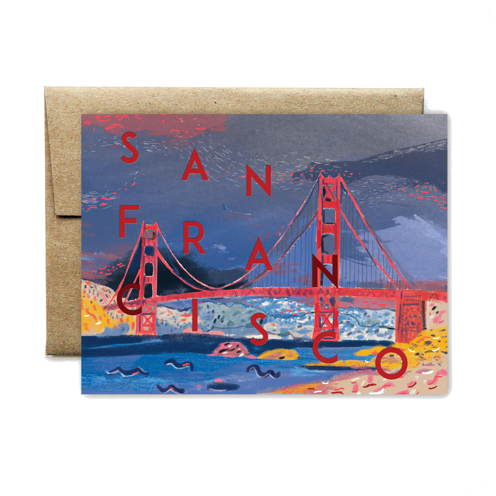 San Francisco Bridge Card