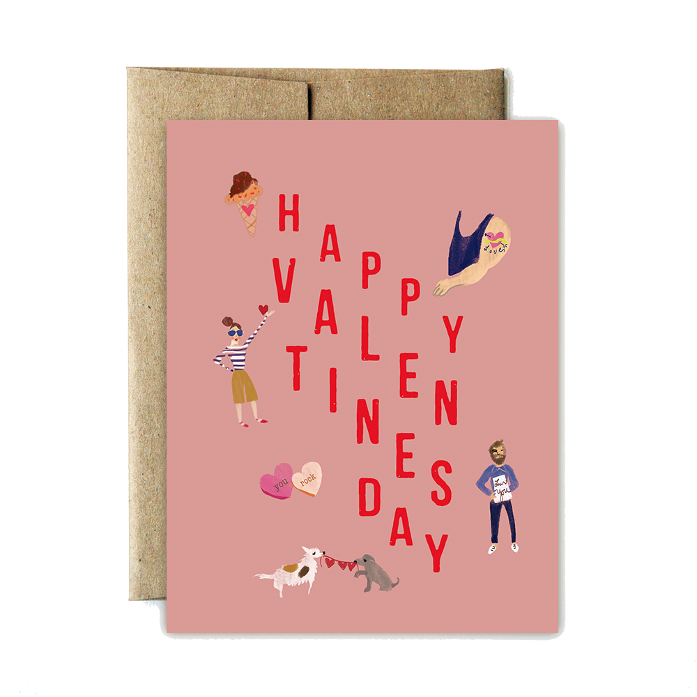 Iconic Valentines card