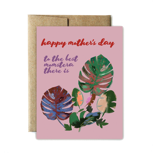 Monstera mother's day