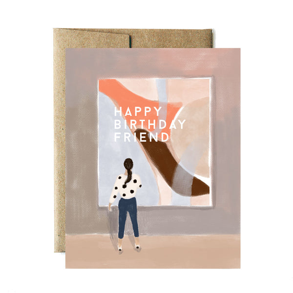 Museum birthday card