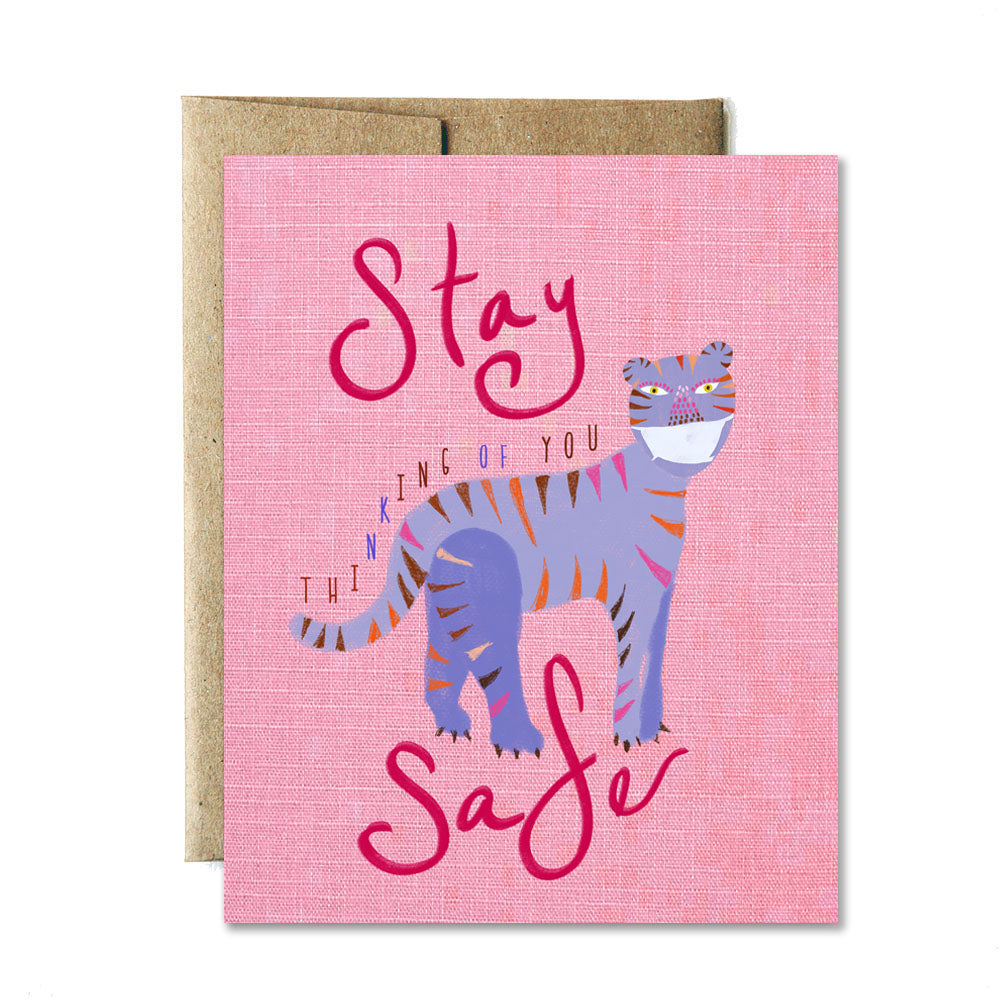 Stay safe card