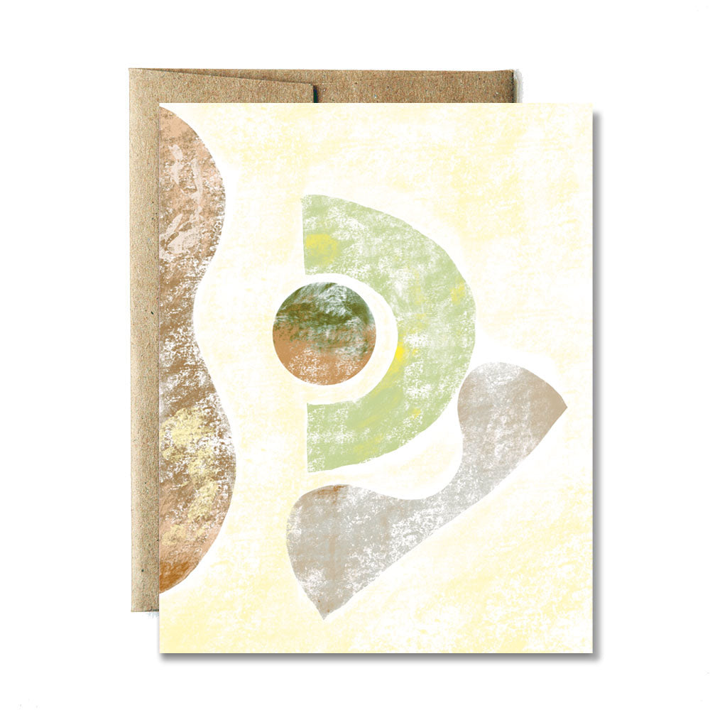 Cave shapes card