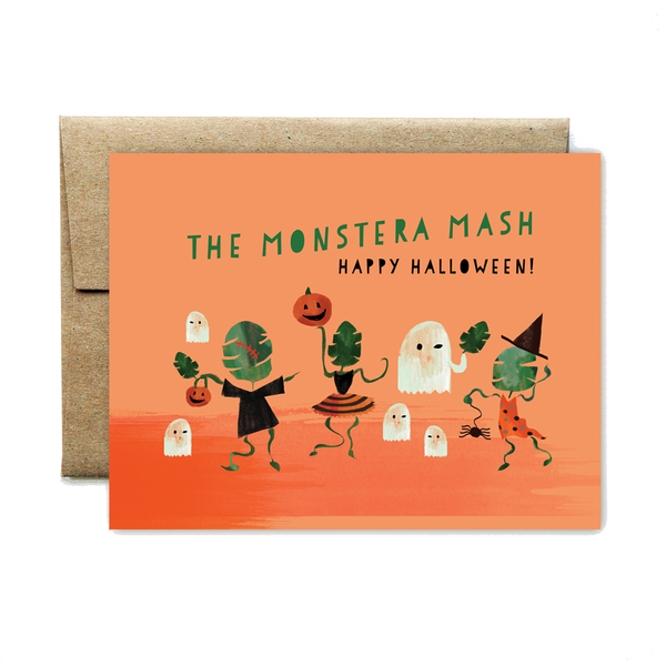 """Monstera"" Mash Happy Halloween"