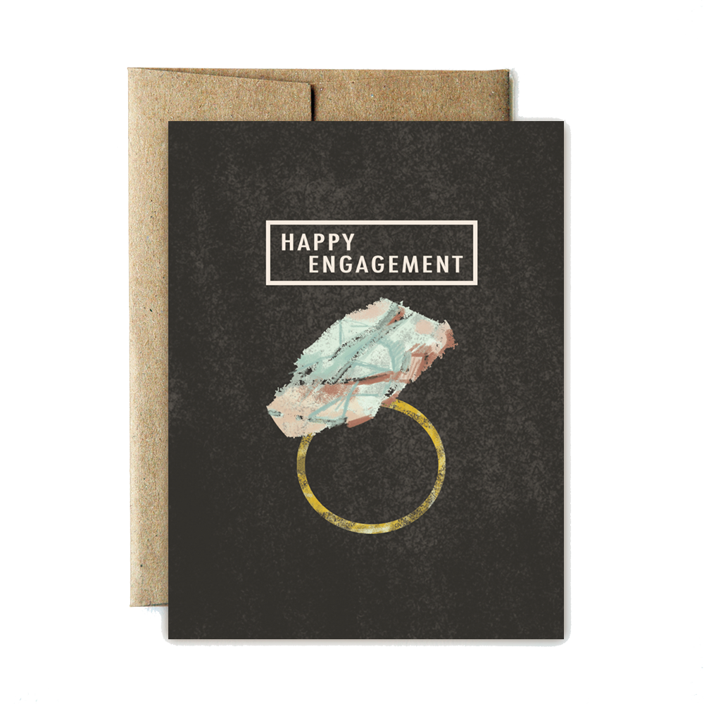 gem engagement card