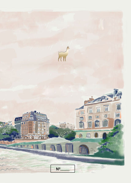 Seine river notebook