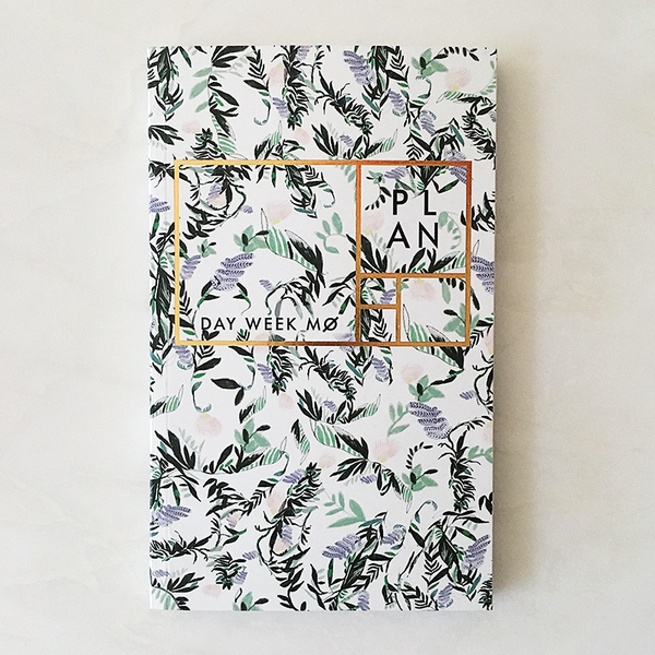 French Fern year-less planner