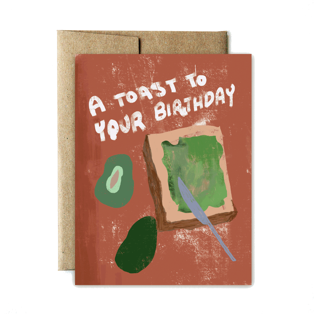 Toast birthday