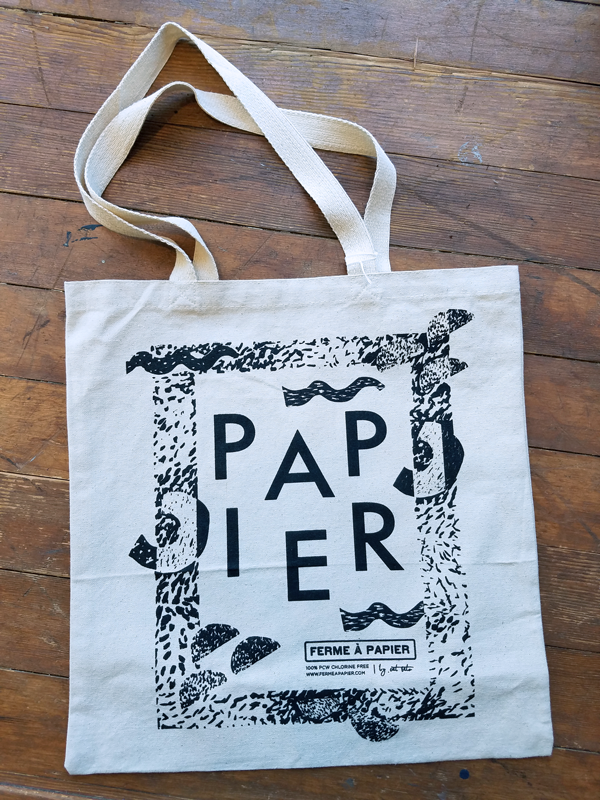 Deco Pop Tote Bag - Ferme à Papier  - 1
