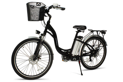 AmericanElectric Veller 2021 Step Through City Electric Bike Black View 3