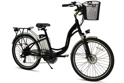 AmericanElectric Veller 2021 Step Through City Electric Bike Black View 4
