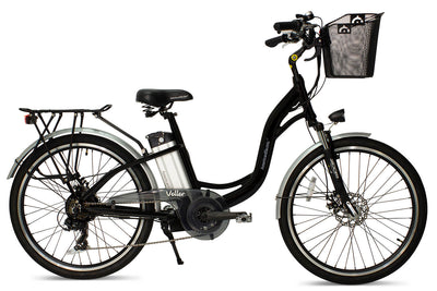 AmericanElectric Veller 2021 Step Through City Electric Bike Black