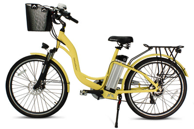 AmericanElectric Veller 2021 Step Through City Electric Bike Ivory Voew 2