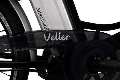 AmericanElectric Veller 2021 Step Through City Electric Bike Chain Guard Logo