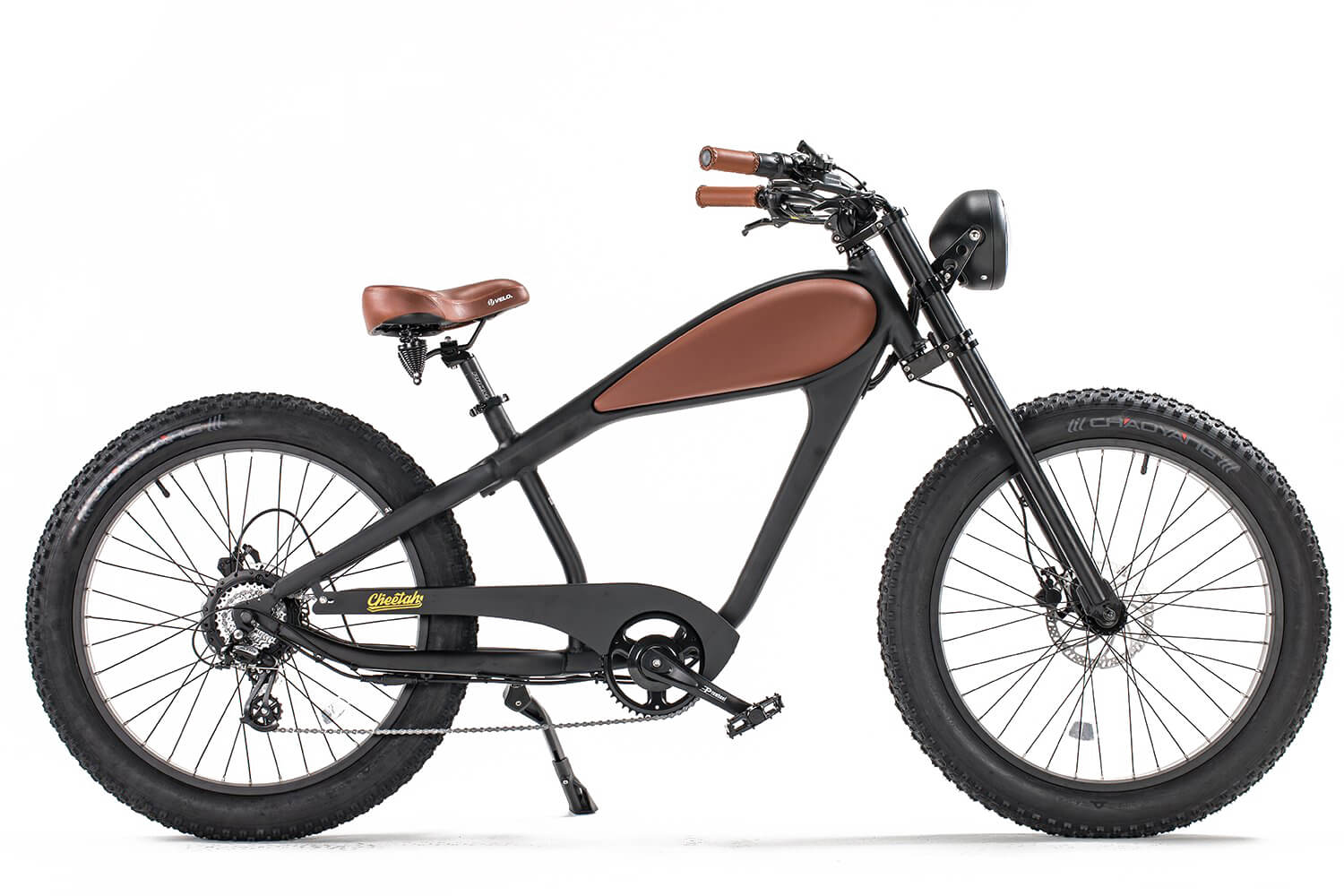 [Pre-Order] CIVI Bikes (REVI Bikes) Cheetah - The Cafe Racer Cruiser Fat Tire Electric Bike