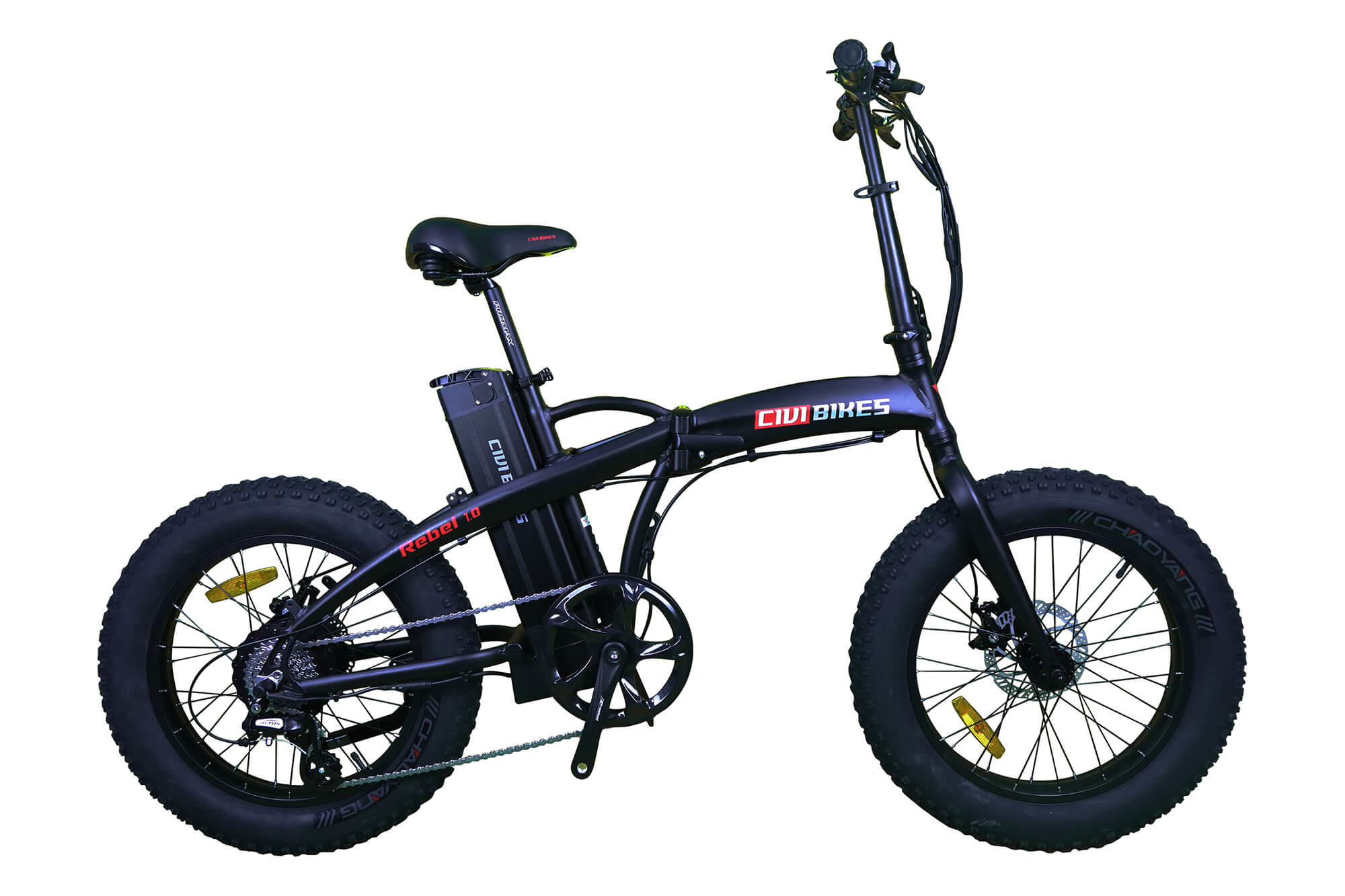 CIVI Bikes (REVI Bikes) Rebel 1.0 Fat Tire Folding Electric Bike