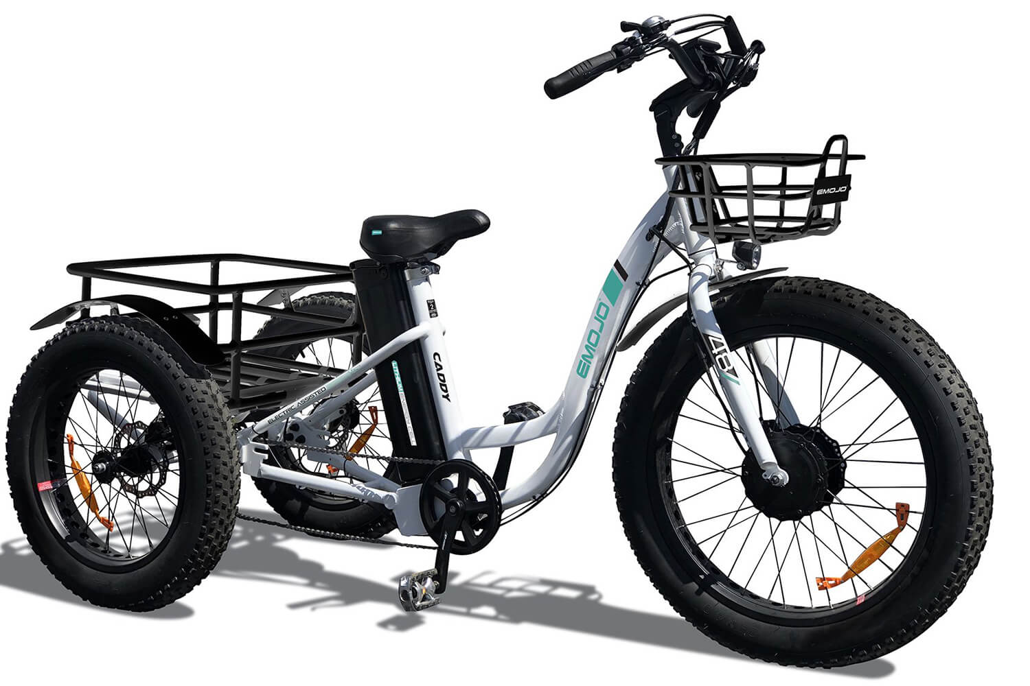 EMOJO Caddy Fat Tire Electric Trike