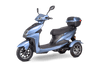 EWheels EW-26 500W 48V Electric Mobility Scooter Blue 3