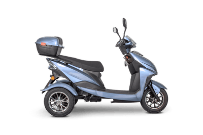 EWheels EW-26 500W 48V Electric Mobility Scooter Blue 1