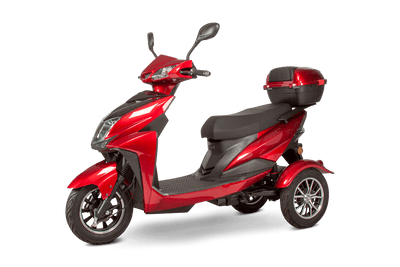 EWheels EW-26 500W 48V Electric Mobility Scooter Red 3