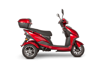 EWheels EW-26 500W 48V Electric Mobility Scooter Red 1