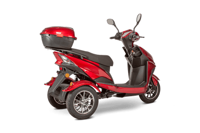 EWheels EW-26 500W 48V Electric Mobility Scooter Red 5