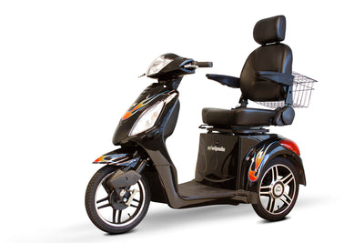 EWheels EW-36 Electric Mobility Scooter Black Fire