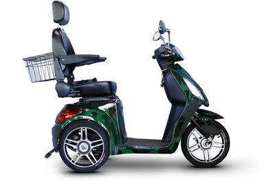 EWheels EW-36 Electric Mobility Scooter Green Camo
