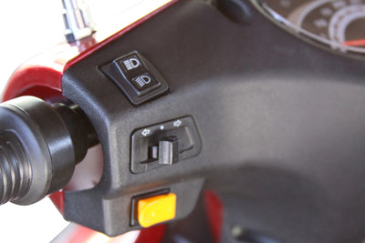 EWheels EW-36 Electric Mobility Scooter Light Switches