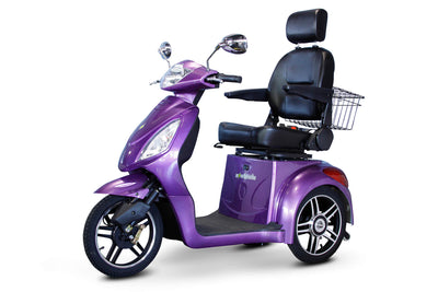 EWheels EW-36 Electric Mobility Scooter Purple