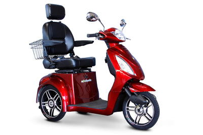 EWheels EW-36 Elite Electric Mobility Scooter Red