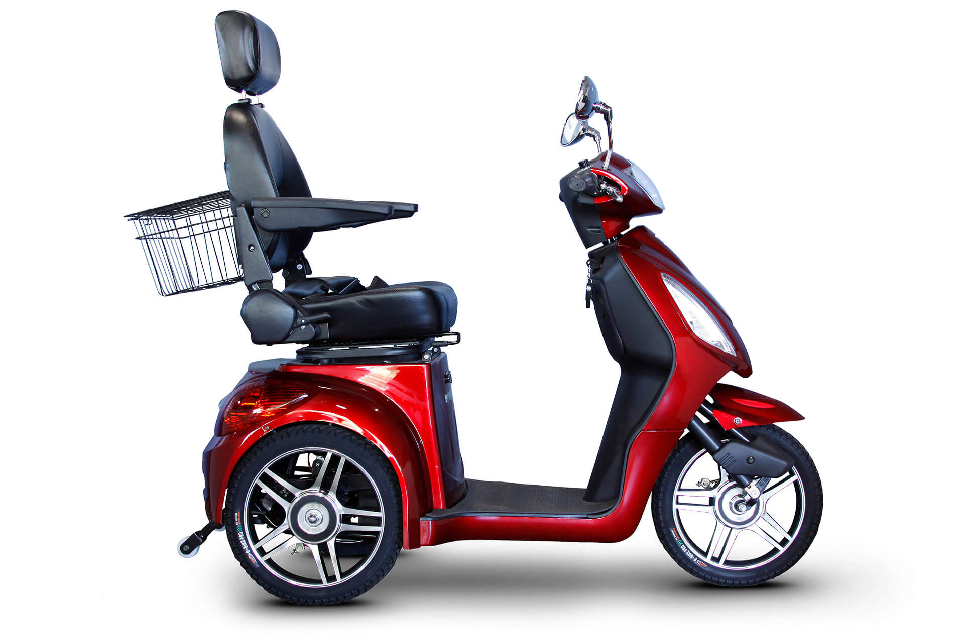 EWheels EW-36 Electric Mobility Scooter Red