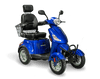 EWheels EW-46 Electric Mobility Scooter Blue