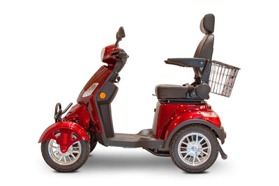 EWheels EW-46 Electric Mobility Scooter Red 2