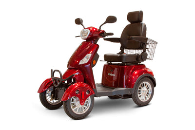EWheels EW-46 Electric Mobility Scooter Red 3