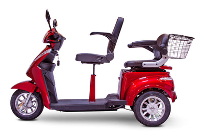 EWheels EW-66 700W 48V 2 Seat Electric Mobility Scooter Side 2